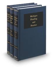 Michigan Pleading and Practice, 2d