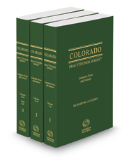 Colorado Litigation Forms and Analysis, 2017-2018 ed.