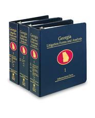 Georgia Litigation Forms and Analysis