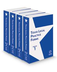Texas Legal Practice Forms, 2021 ed.