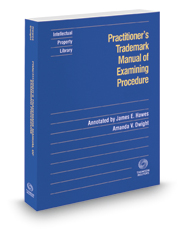 Practitioner's Trademark Manual of Examining Procedure, 2016-2 ed.