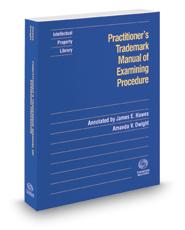 Practitioner's Trademark Manual of Examining Procedure, 2017-1 ed.