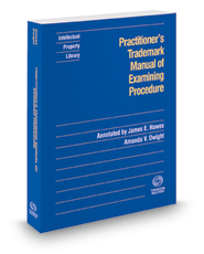 Practitioner's Trademark Manual of Examining Procedure, 2018-2 ed.
