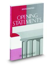 Annotated Opening Statements (AAJ Press)