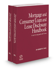 Mortgage and Consumer Loan and Lease Disclosure Handbook, 2016-2017 ed.