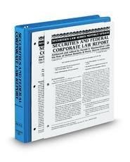Securities and Federal Corporate Law Report