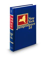 New York Jurisprudence, 2d