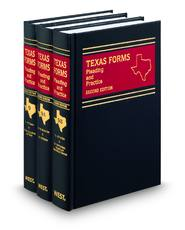 Texas Jurisprudence® Pleading and Practice Forms