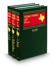 Texas Forms: Legal and Business
