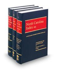Strong's North Carolina Index, 4th