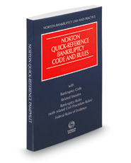 Norton Quick-Reference Bankruptcy Code and Rules, 2019 ed.