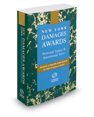 New York Damages Awards, 2019 ed.