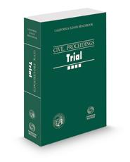 California Judges Benchbook: Civil Proceedings—Trial, 2020 ed.