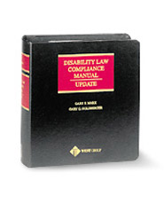 Disability Law Compliance Manual