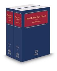 Real Estate Law Digest, 2017-2 ed.