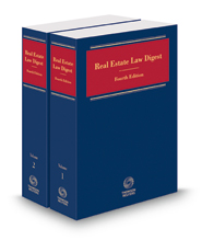 Real Estate Law Digest, 2018-1 ed.