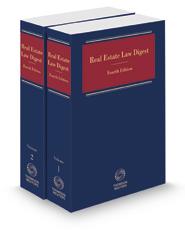 Real Estate Law Digest, 2020-2 ed.