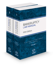 Bankruptcy Law Manual, 5th, 2018-1 ed.