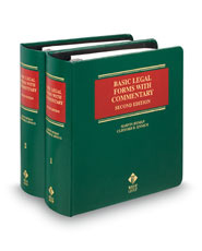 Basic Legal Forms with Commentary, 2d