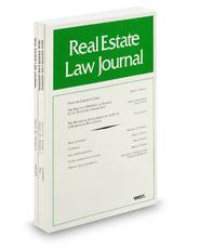 Real Estate Law Journal