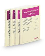 Securities Regulation Law Journal