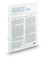 The Uniform Commercial Code Law Letter