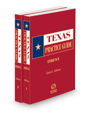 Evidence, 2021-2022 ed. (Texas Practice Guide)
