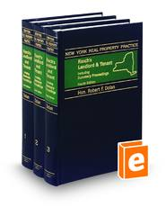 Rasch's Landlord and Tenant including Summary Proceedings, 4th (New York Real Property Practice)