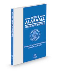 Alabama Code: 1975 Legislative Service
