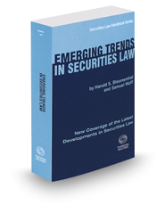 Emerging Trends In Securities Law, 2015-2016 ed. (Securities Law Handbook Series)