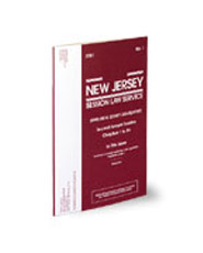 New Jersey Session Law Service