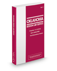 Oklahoma Session Law Service