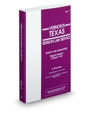Texas Session Law Service