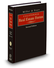 Miller & Starr California Real Estate Forms, 2d