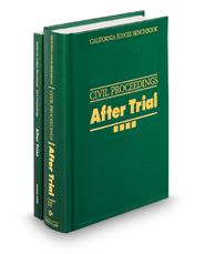 California Judges Benchbook: Civil Proceedings—After Trial, 2d