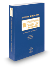 Momjian and Momjian Pennsylvania Family Law Annotated, 2016 ed.