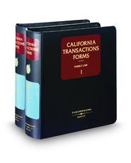 Family Law (California Transactions Forms)