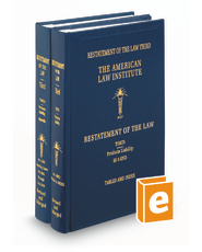 Restatement of the Law (3d) of Torts—Products Liability, with Appendix