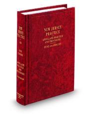 Appellate Practice and Procedure, 2d (Vol. 40, New Jersey Practice Series)
