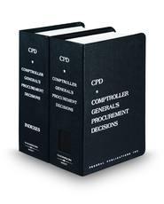 Comptroller General's Procurement Decisions