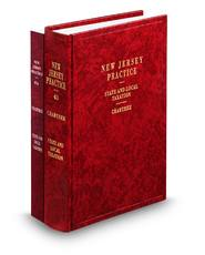 State and Local Taxation, 2d (Vol. 43 and 43A, New Jersey Practice Series)