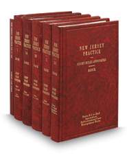 Court Rules Annotated, 7th (Vols. 1-2A, New Jersey Practice Series)