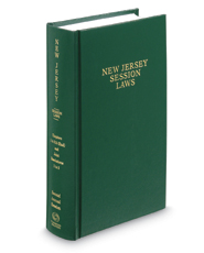 New Jersey Session Laws Bound Volume, 2016 ed.
