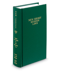 New Jersey Session Laws Bound Volume, 2017 ed.