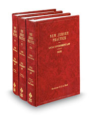 Local Government Law, 4th (Vols. 34-35A, New Jersey Practice Series)