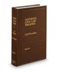 Civil Procedure, 2d (Vol. 1, Louisiana Civil Law Treatise Series)
