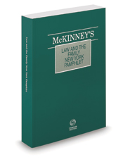 McKinney's® Law and the Family—New York, 2020 ed.