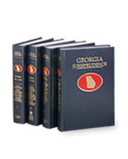 Georgia Jurisprudence®: Personal Injury, Business Torts, Family Law, and Workers' Compensation