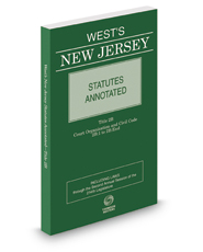 New Jersey Statutes Annotated, Title 2b: Court Organization and Civil Code (2b:1 to 2b: End), 2018 ed.