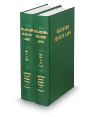 Oklahoma Session Law Bound Volumes, 2017 ed.